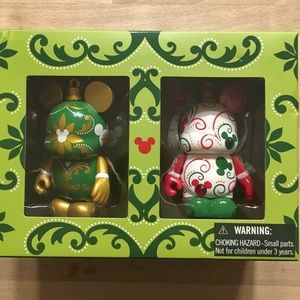 Disney Vinylmation Holiday Ornament Boxed Set